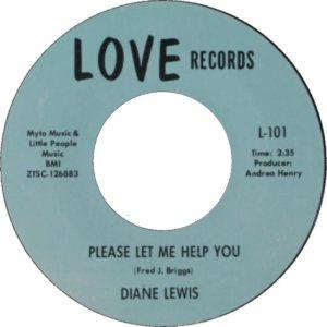 LEWIS DIANE 68 LOVE A