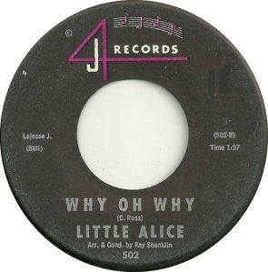 LITTLE ALICE 62 B