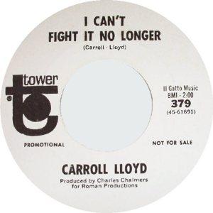 LLOYD CARROLL 66 B