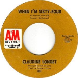 LONGET CLAUDINE 66 A