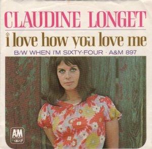 LONGET CLAUDINE 66 ps b