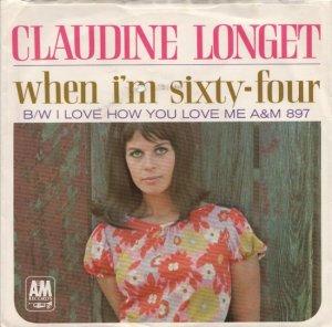 LONGET CLAUDINE 66 PS