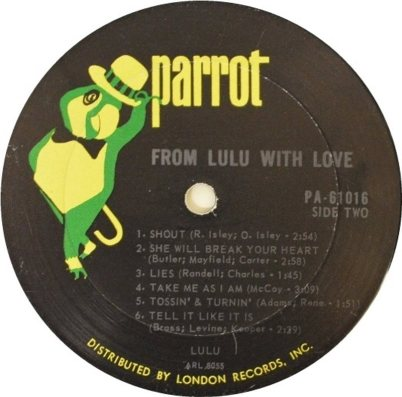 LULU - PARROT 01 RB