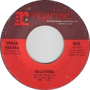 MAKEBA MIRIAM - 68 A