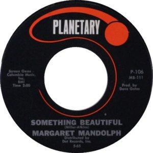 MANDOLPH MARGARET - 65 B