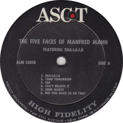 MANFRED MANN 01 DO WAH A