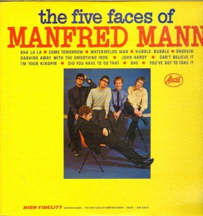 MANFRED MANN 02 FACES