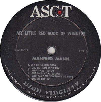 MANFRED MANN - BOOK OF WINNERS R
