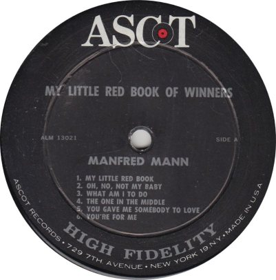 MANFRED MANN - BOOK OF WINNERS R