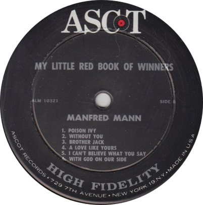 MANFRED MANN - BOOK OF WINNERS R_0001