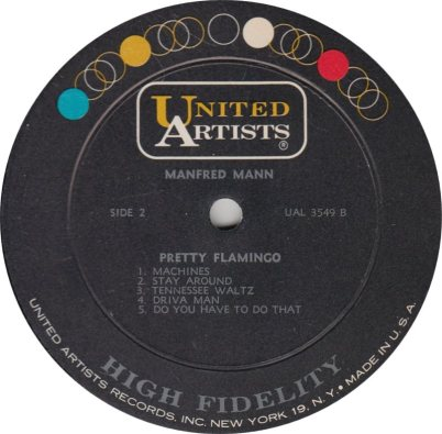 MANFRED MANN - FLAMINGO R_0001