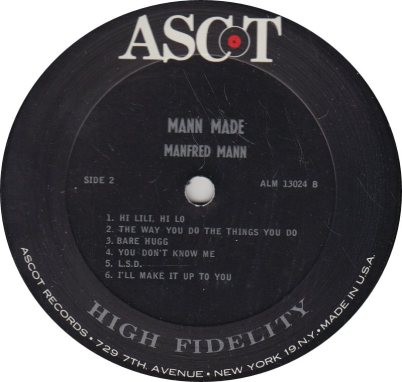 MANFRED MANN - MANN MADE R_0001