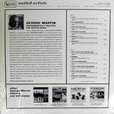 MARTIN GEORGE - BEATLE GIRLS B