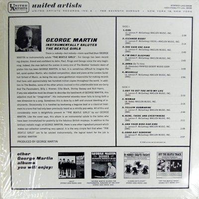 MARTIN GEORGE - BEATLE GIRLS B