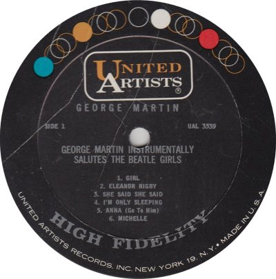 MARTIN GEORGE - BEATLE GIRLS R