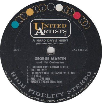 MARTIN GEORGE - HARD DAYS NIGHT