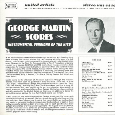 MARTIN GEORGE - INST HITS 2