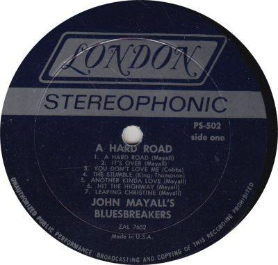 MAYALL J - 02 - HARD ROAD