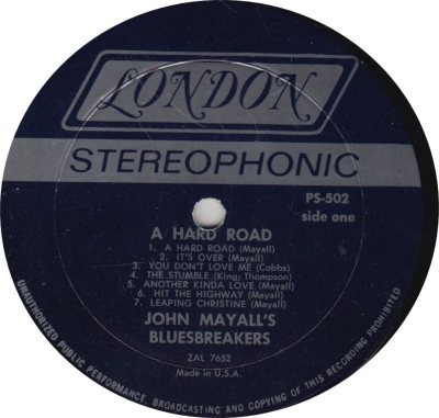 MAYALL J - 02 - HARD ROAD