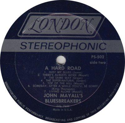 MAYALL J - 02 - HARD ROAD_0001