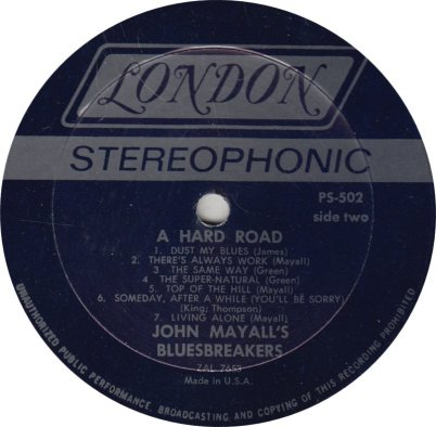 MAYALL J - 02 - HARD ROAD_0001
