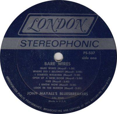 MAYALL J - 04 - BARE W