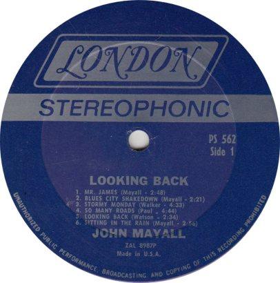 MAYALL J - 06 - LOOKING