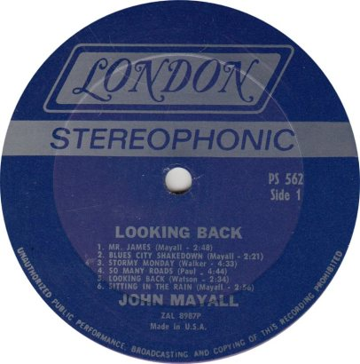MAYALL J - 06 - LOOKING