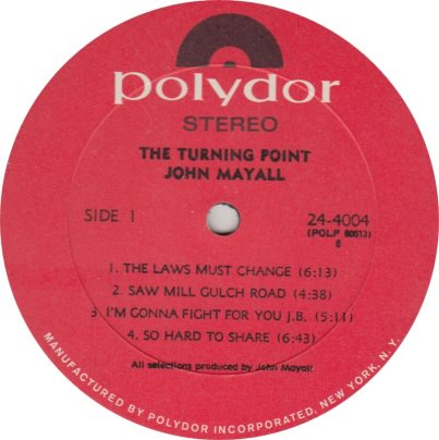 MAYALL J - 07 - TURNING