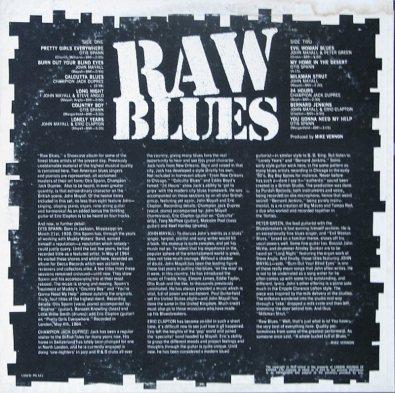 MAYALL J - 67 RAW BLUES COV B