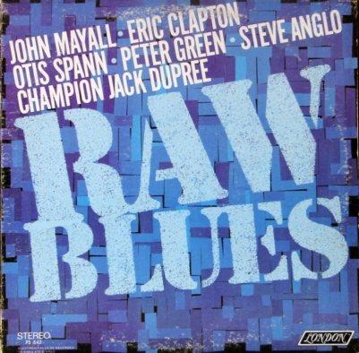 MAYALL J - 67 RAW BLUES COV
