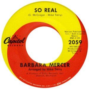 MERCER BARBARA 67 AA