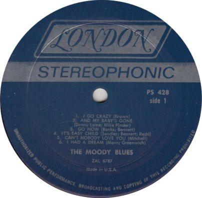 MOODY BLUES 01 GO