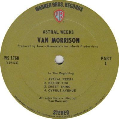 MORRISON VAN 02 ASTRAL