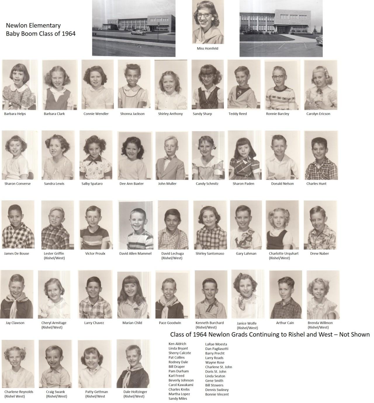NEWLON CLASS OF 1964