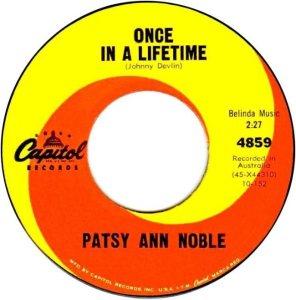 NOBEL PATSY ANN - 62 A