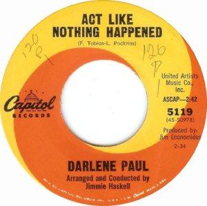 PAUL DARLENE 64 A
