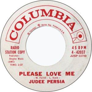 PERSIA JUDEE 61 A
