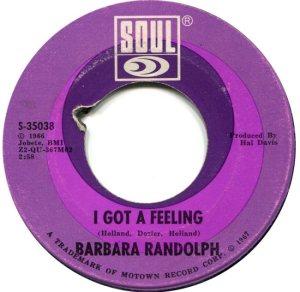 RANDOLPH BARBARA 67 A