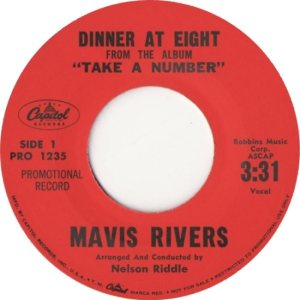 RIVERS MAVIS - 59 A