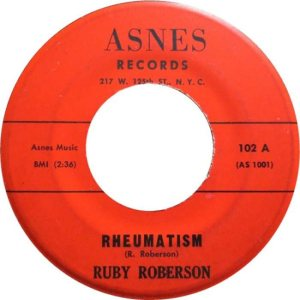 ROBERSON RUBY 61 A