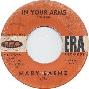 SAENZ MARY - 63 A
