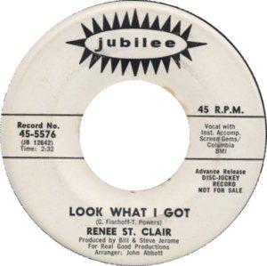 ST CLAIR RENEE 67 A