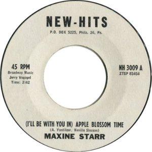 STARR MAXINE 62 A