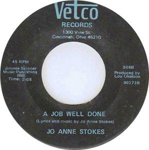 STOKES JO ANNE 69 B