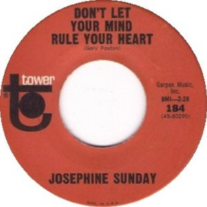 SUNDAY JOSEPHINE 65 B