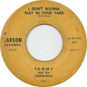 TAMMY CAROLINAS 61 B