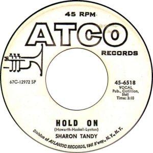 TANDY SHARON 67 A