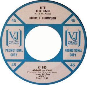 THOMPSON CHERYLE - 65 A