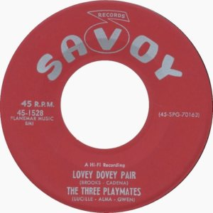THREE PLAYMATES 57 B